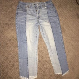 American Eagle Two-Toned Jeans Size 12